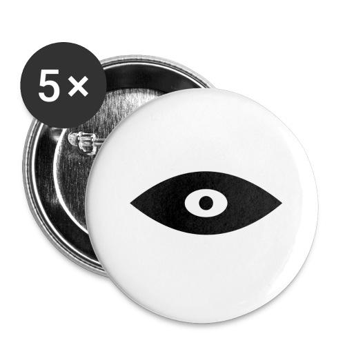 eye - Stora knappar 56 mm (5-pack)