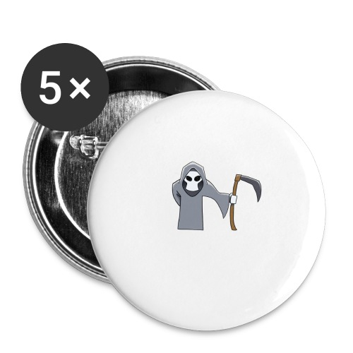 Reaper - Buttons large 2.2''/56 mm(5-pack)