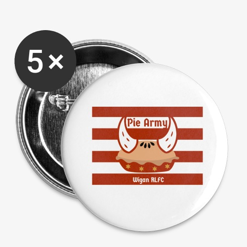 Pie Army - Buttons large 2.2''/56 mm(5-pack)