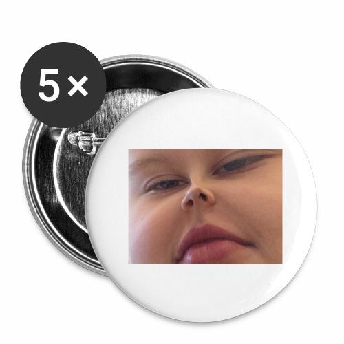 Sexy Man - Stora knappar 56 mm (5-pack)