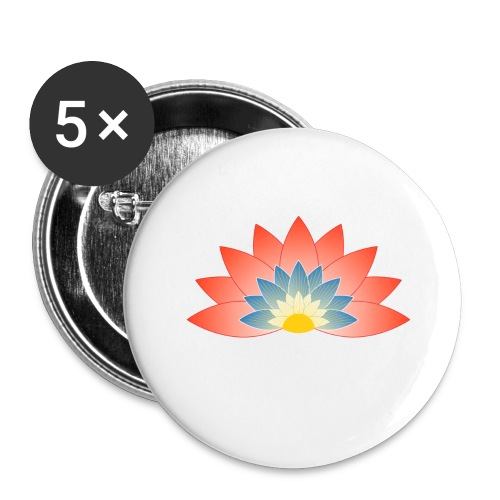 Support Renewable Energy with CNT to live green! - Buttons large 2.2''/56 mm(5-pack)