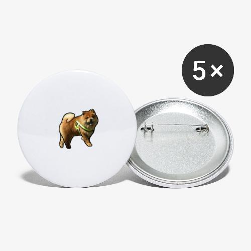 Bear - Buttons large 2.2''/56 mm(5-pack)