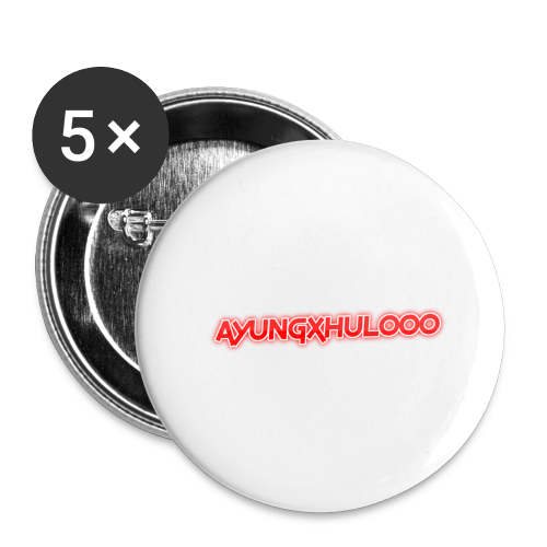 AYungXhulooo - Neon Redd - Buttons large 2.2''/56 mm (5-pack)