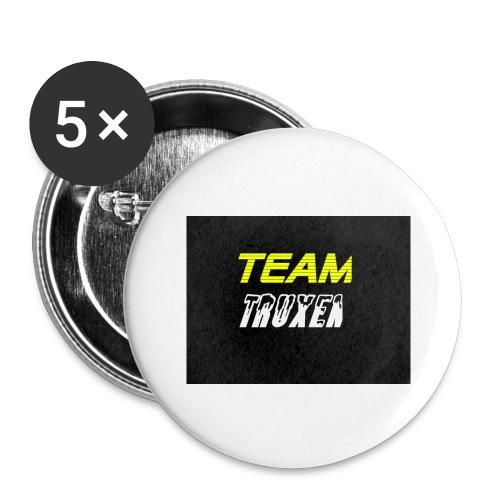 Truxenmerch - Stora knappar 56 mm (5-pack)