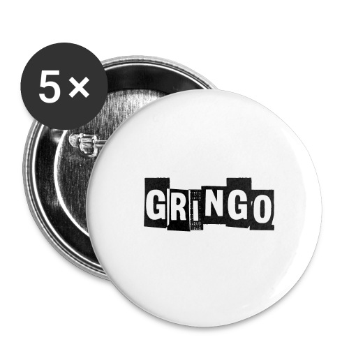 Cartel Gangster pablo gringo mexico tshirt - Buttons large 2.2''/56 mm(5-pack)