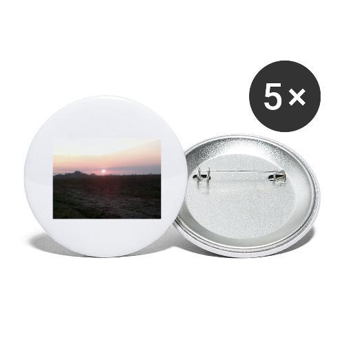 Alba - Confezione da 5 spille grandi (56 mm)
