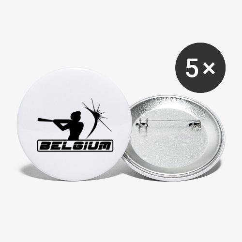 Belgium 2 - Lot de 5 grands badges (56 mm)