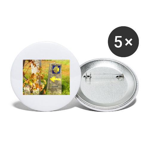 mojones - Confezione da 5 spille grandi (56 mm)
