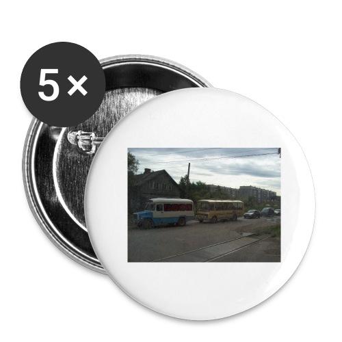 Sortavala - Rintamerkit isot 56 mm (5kpl pakkauksessa)