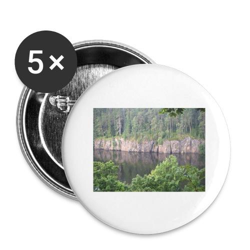 Laatokan maisemissa - Rintamerkit isot 56 mm (5kpl pakkauksessa)