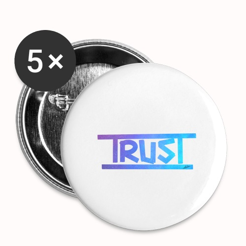 Trust - Buttons large 2.2''/56 mm(5-pack)