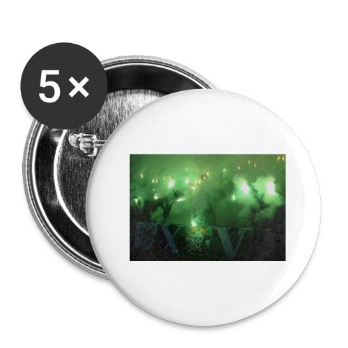 #Bajen - Stora knappar 56 mm (5-pack)