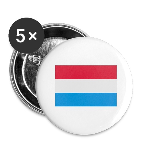 The Netherlands - Buttons groot 56 mm (5-pack)