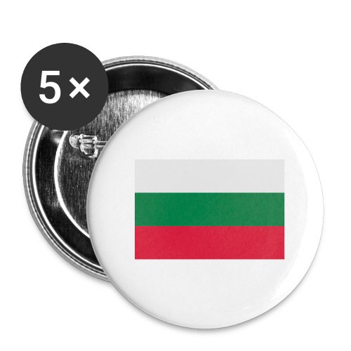 Bulgaria - Buttons groot 56 mm (5-pack)