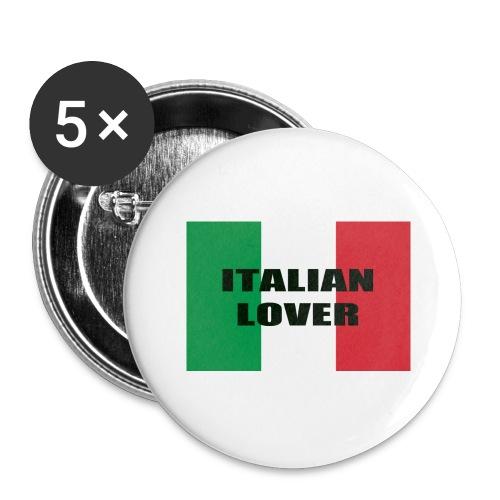 ITALIAN LOVER - Confezione da 5 spille grandi (56 mm)