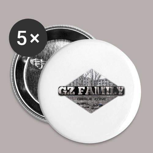 GZ FAMILY - Buttons groß 56 mm (5er Pack)