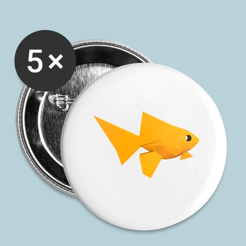 RATWORKS Fish-Smish - Buttons large 2.2''/56 mm(5-pack)
