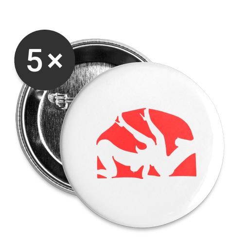 Sex Time - Lot de 5 grands badges (56 mm)