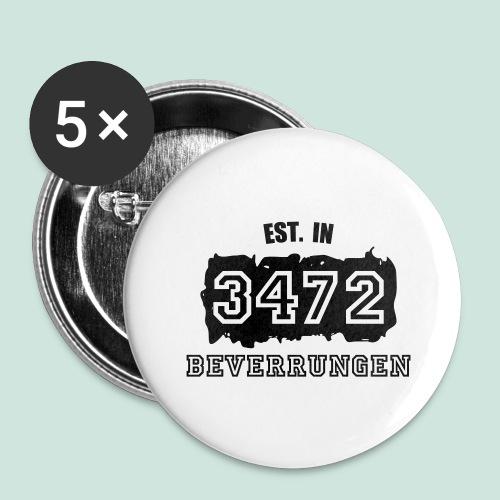 Established 3472 Beverungen - Buttons groß 56 mm (5er Pack)