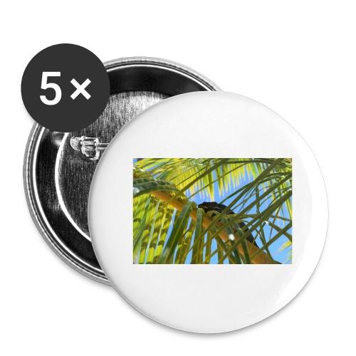 Camaleonte - Confezione da 5 spille grandi (56 mm)