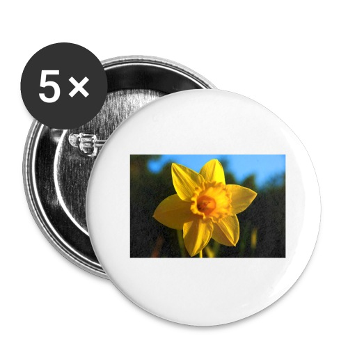 daffodil - Buttons large 2.2''/56 mm(5-pack)