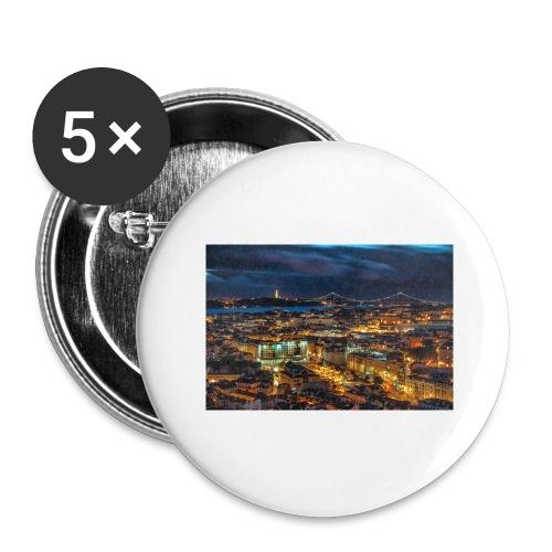image - Lot de 5 grands badges (56 mm)