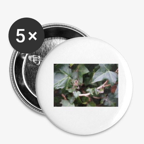 Incy Wincy Spider - Buttons large 2.2''/56 mm(5-pack)