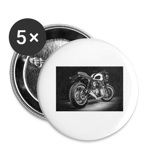 Monia's Thruxton 'Performance Scrambler' - Buttons large 2.2''/56 mm (5-pack)