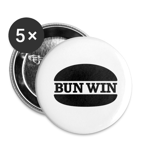 bunwinblack - Buttons large 2.2''/56 mm(5-pack)