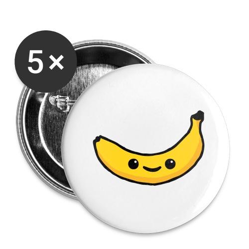 Alles Banane! - Buttons groß 56 mm (5er Pack)