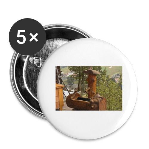 19.12.17 - Buttons groß 56 mm (5er Pack)
