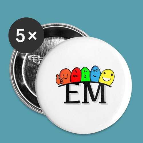EM - Rintamerkit isot 56 mm (5kpl pakkauksessa)