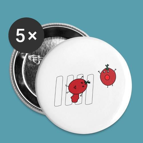 tomaatit - Rintamerkit isot 56 mm (5kpl pakkauksessa)