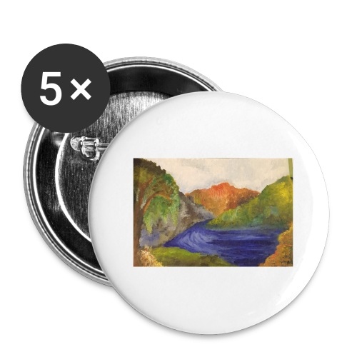 flo 1 - Buttons large 2.2''/56 mm(5-pack)