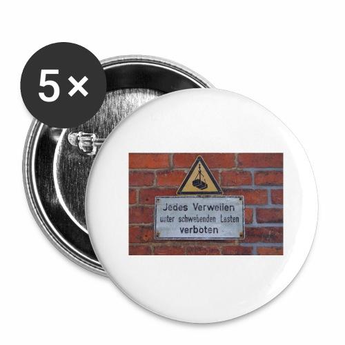 Original Artist design * Jedes Verweilen - Buttons large 2.2''/56 mm(5-pack)