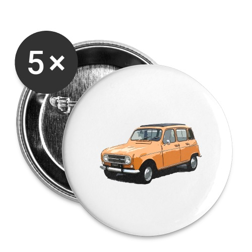 My Fashion 4l - Lot de 5 grands badges (56 mm)