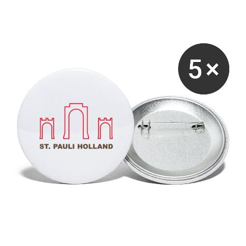 2019 st pauli nl t shirt millerntor 2 - Buttons groot 56 mm (5-pack)