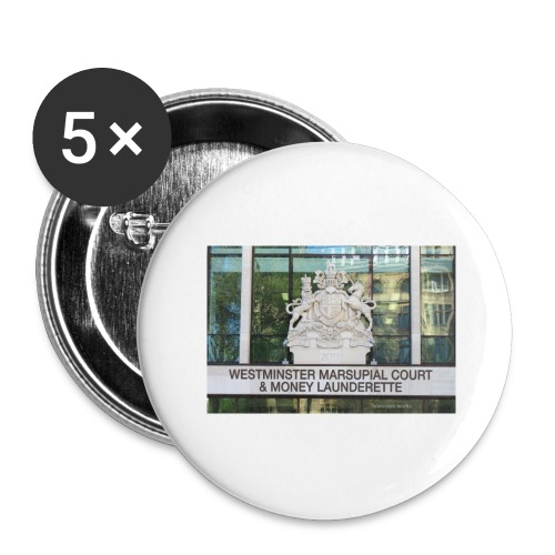 Court of Contempt - Buttons large 2.2''/56 mm(5-pack)