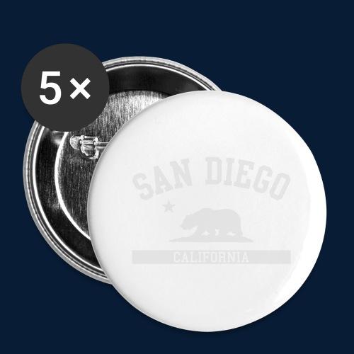 San Diego - Buttons groß 56 mm (5er Pack)