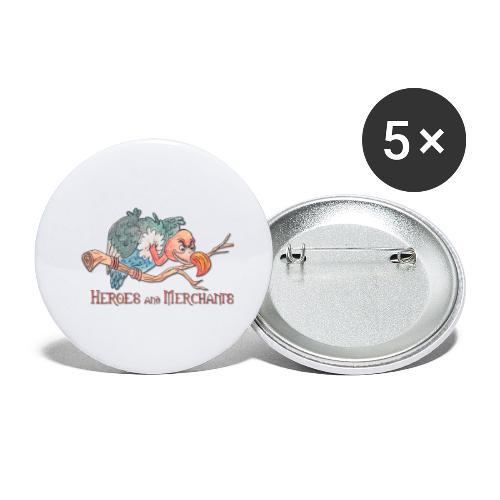 Scavenger - Buttons groß 56 mm (5er Pack)