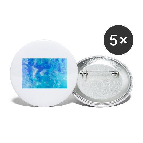 onde - Confezione da 5 spille grandi (56 mm)