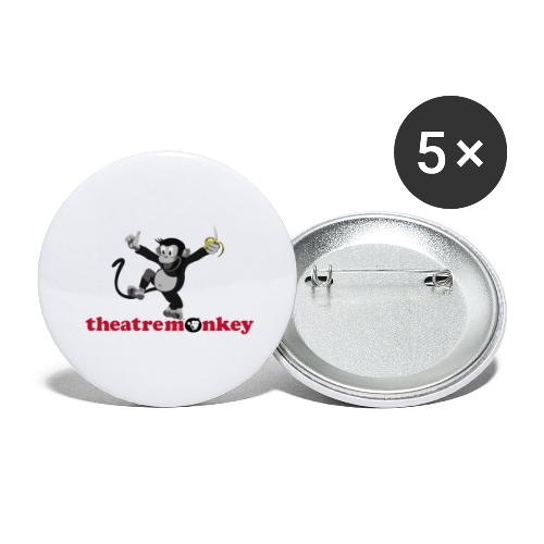 Sammy is Happy! - Buttons large 2.2''/56 mm(5-pack)