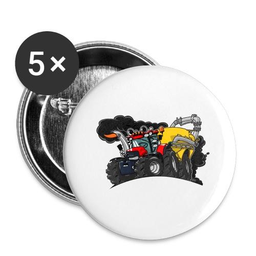0961 Case kar - Buttons groot 56 mm (5-pack)