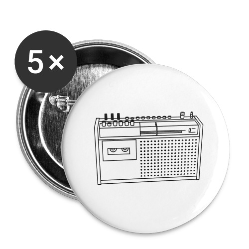 Rekorder R160 - Buttons groß 56 mm (5er Pack)