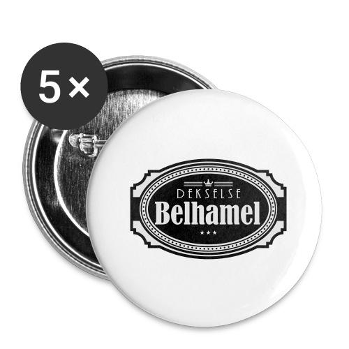 Dekselse belhamel - Buttons groot 56 mm (5-pack)