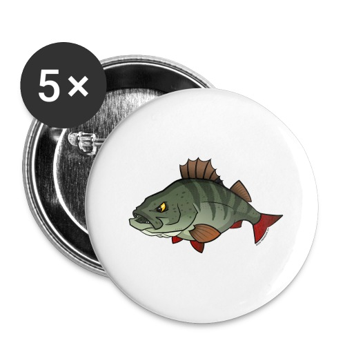 Red River: Perch - Buttons large 2.2''/56 mm (5-pack)