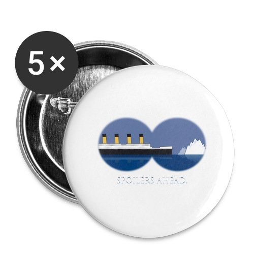 Spoilers ahead. - Buttons groß 56 mm (5er Pack)