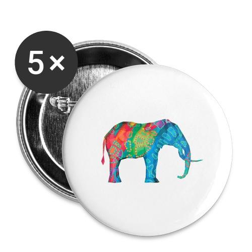 Elefant - Buttons large 2.2''/56 mm(5-pack)