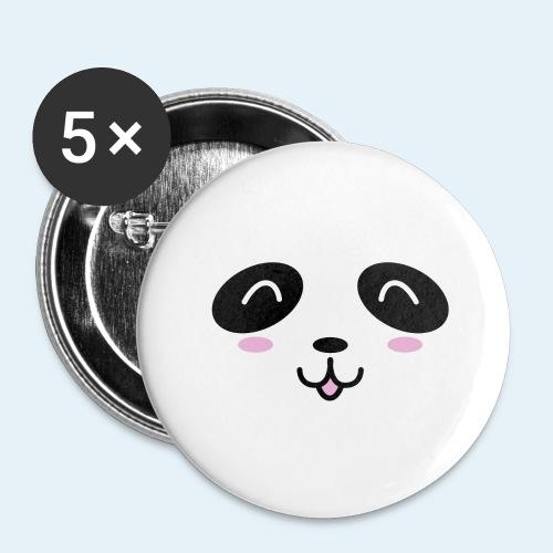 Cachorro panda (Cachorros) - Paquete de 5 chapas grandes (56 mm)