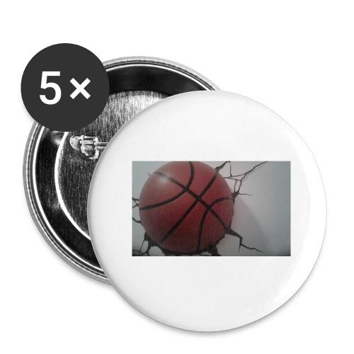Softer Kevin K - Stora knappar 56 mm (5-pack)
